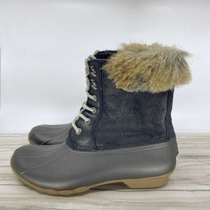 SPERRY TOP SIDER FAUX FUR